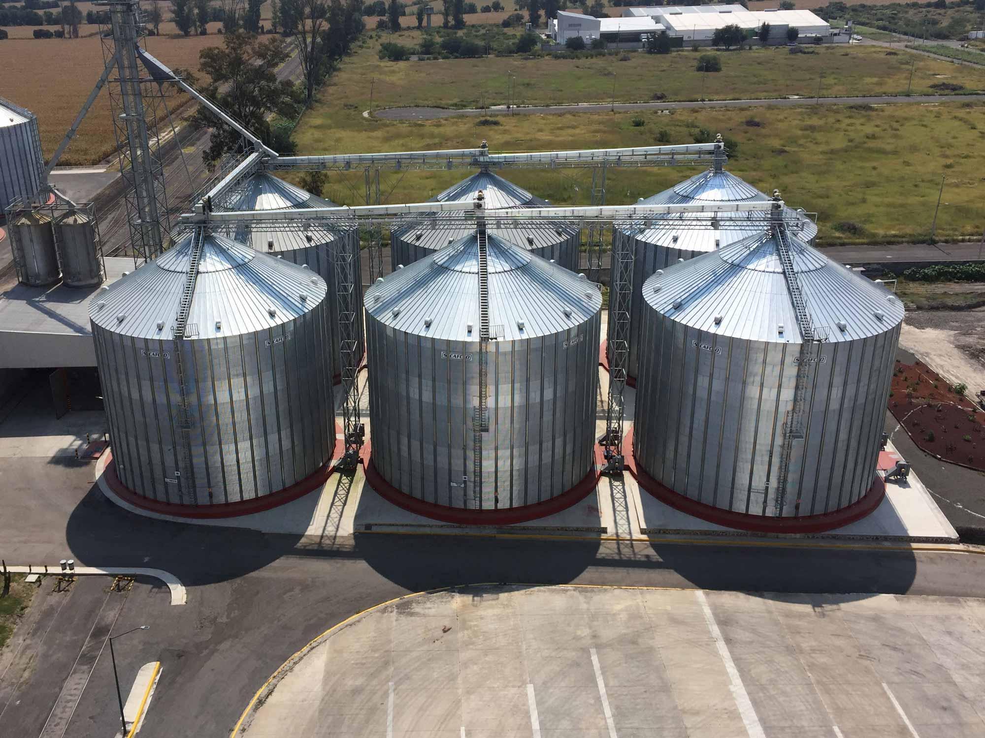 SCAFCO Commercial grain Bins