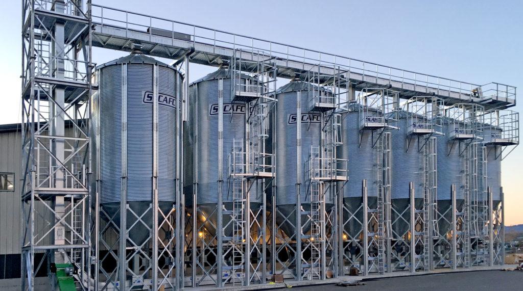Hopper Bottom Bins Scafco Grain Systems