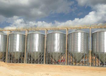 Frac Sand Storage Bins