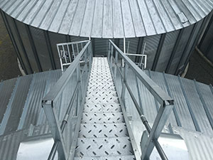 Roof Stairways