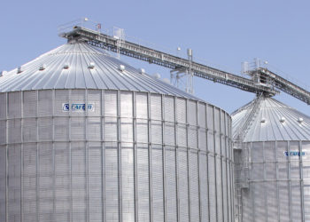 SCAFCO commerical grain bins