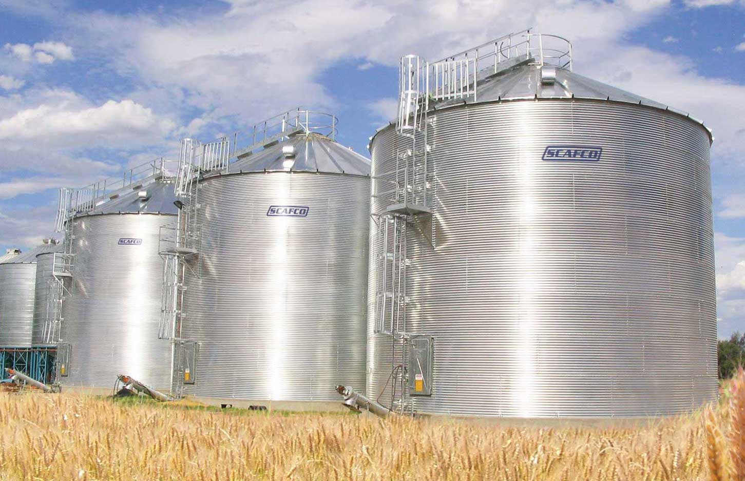 SCAFCO Farm Bins