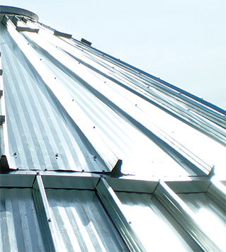 Corrugated Roof Systems Scafco Grain Systems