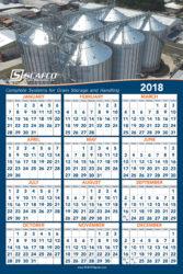 SCAFCO Grain Systems 2018 Calendar