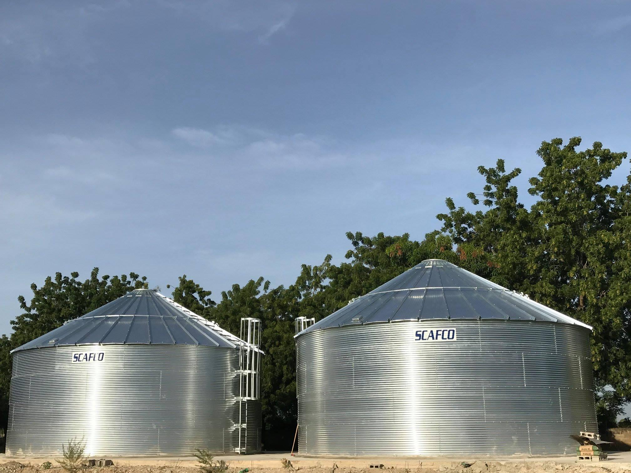 Haiti Water Tanks Scafco Grain Systems