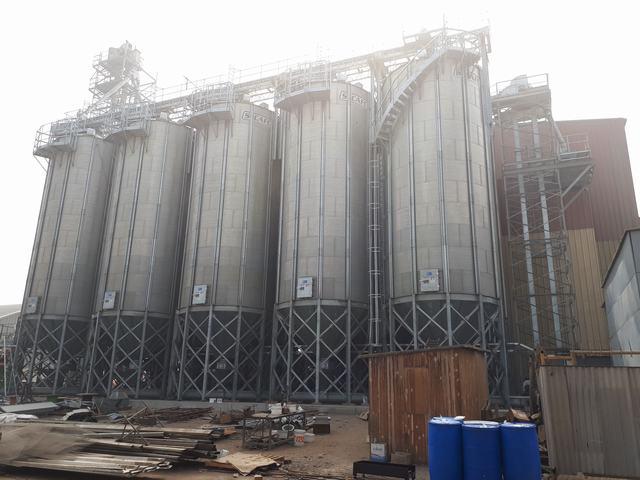Soy Storage in Peru