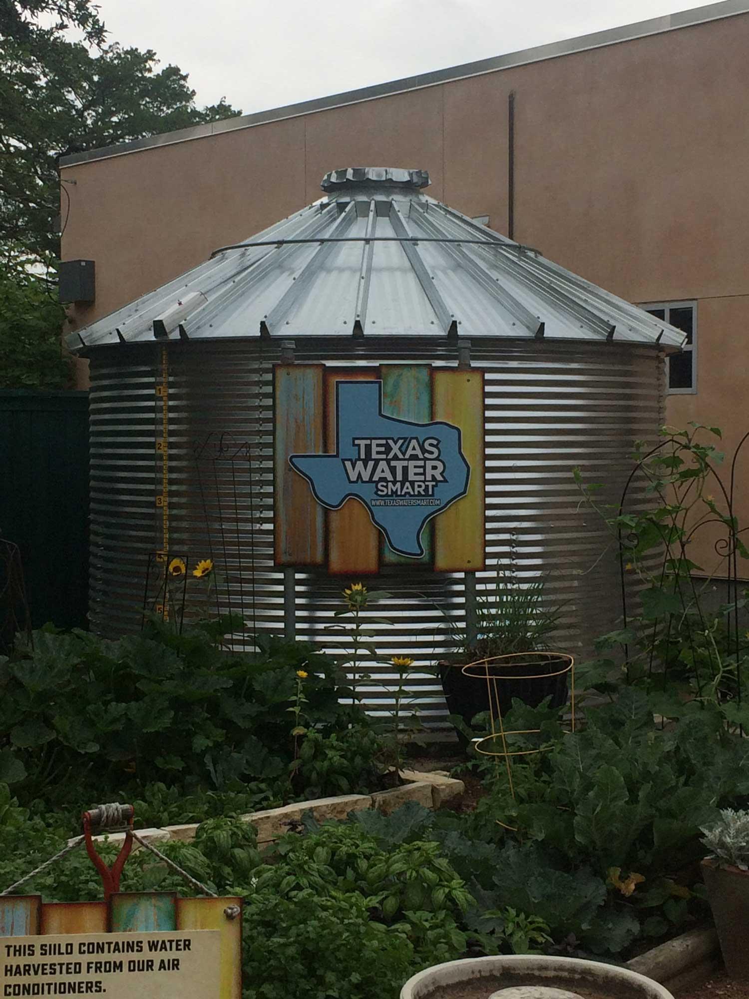 San Antonio Water Tank