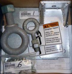 Entrapment Prevention Anchor Kit