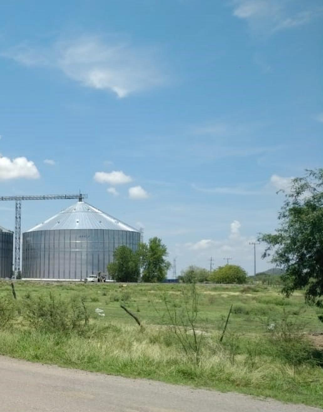 SCAFCO 10,000 metric ton corn silo