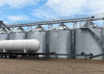SCAFCO Farm Grain Bins